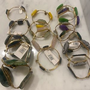 Bourbon and boweties lot of bangles. Some NWT